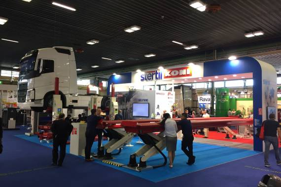 Stertil-Koni and Pesci at Autopromotec 2017, Bologna Italy